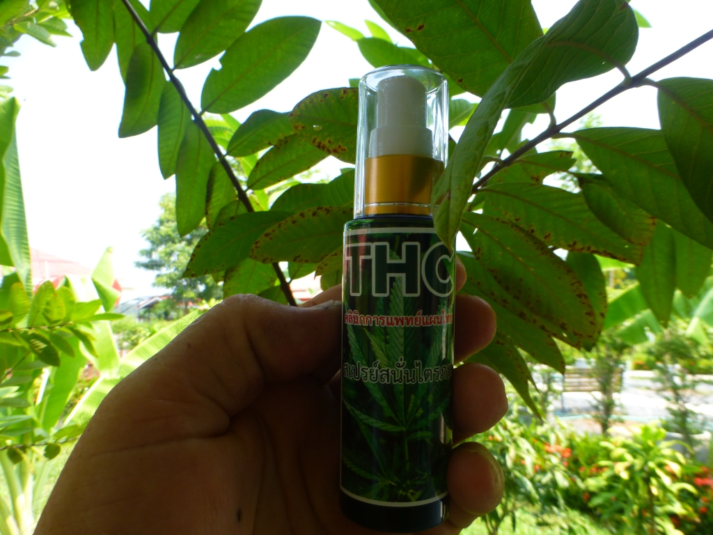 Spray oil for skin and sore Bones and Joints/